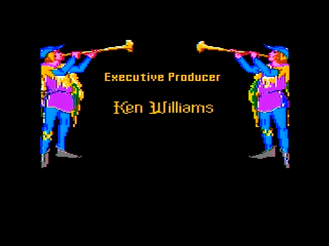 King's Quest IV: The Perils of Rosella Apple II Part of the introduction / credits