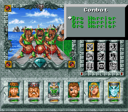 Might and Magic 3: Isles of Terra 296803-might-and-magic-iii-isles-of-terra-snes-screenshot-fighting