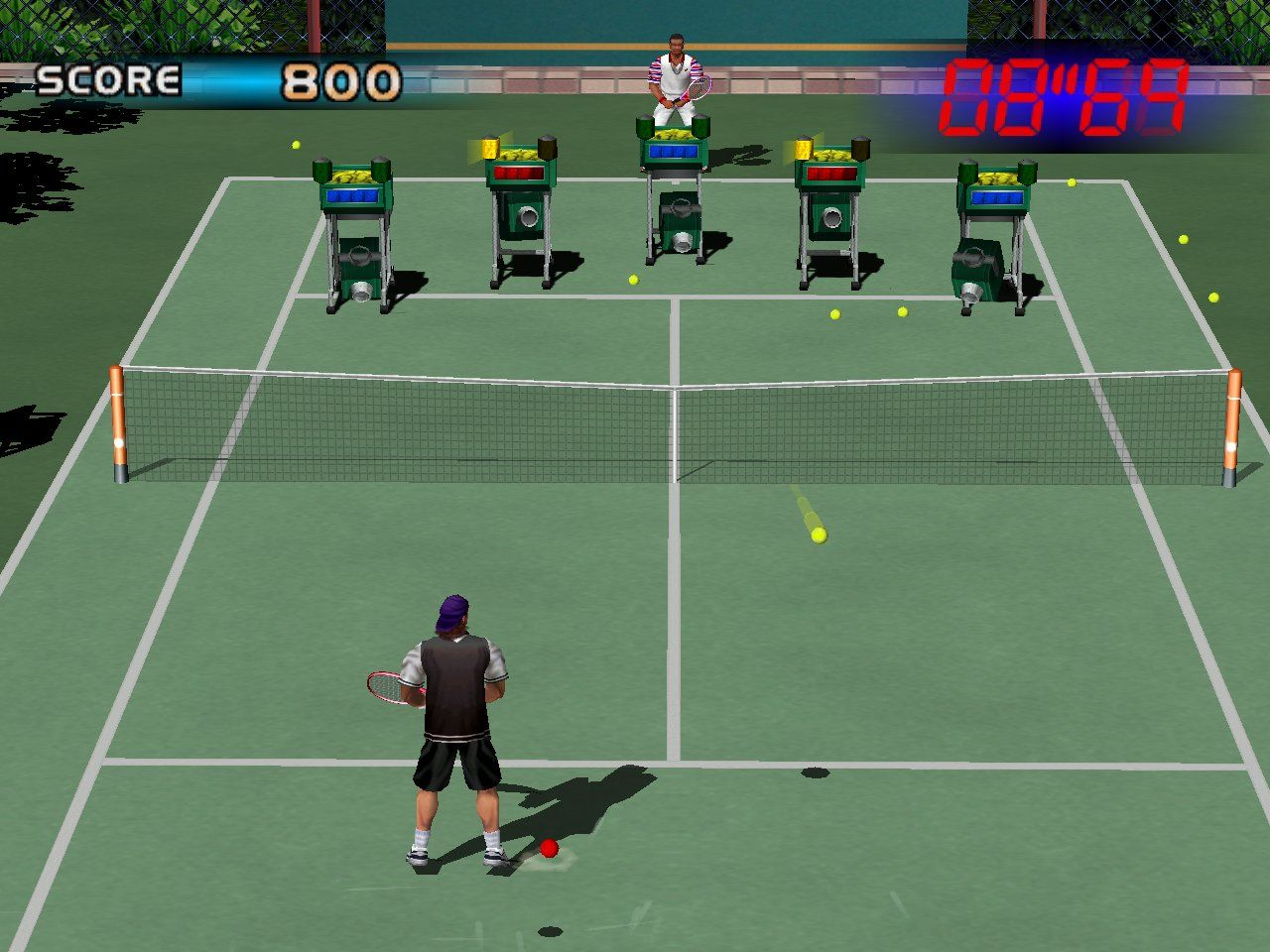 Virtua Tennis Windows Ball-machines mini-game