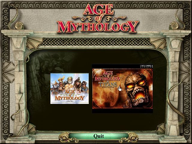 Age of Mythology: Gold Edition Windows The main question in the Gold Edition: What should I play?