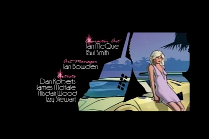 Grand Theft Auto: Vice City Stories PlayStation 2 Opening credits