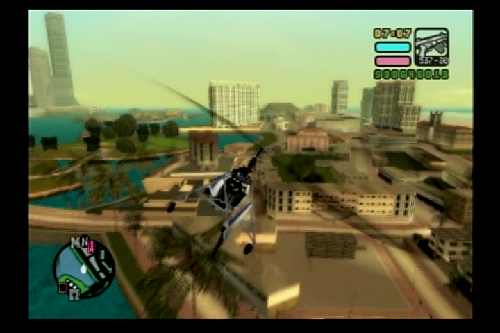 Grand Theft Auto: Vice City Stories PlayStation 2 Fly a helicopter for quick tasks across the islands.