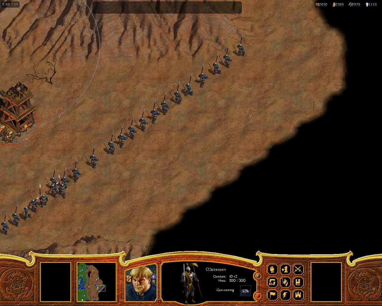 Warlords: Battlecry II Windows Lots of Pikemen