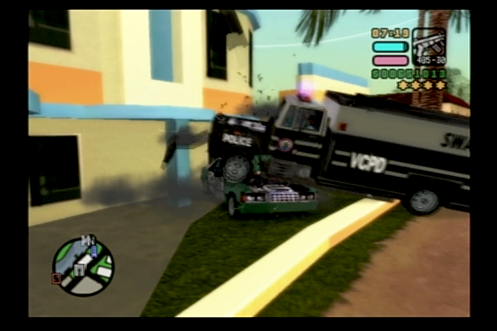 Grand Theft Auto: Vice City Stories PlayStation 2 The police will do just about anything to get you to stop.