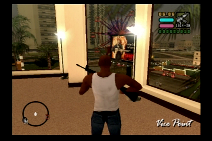 Grand Theft Auto: Vice City Stories PlayStation 2 Vic's luxurious pad in Vice Point
