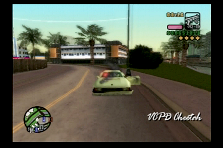 Grand Theft Auto: Vice City Stories PlayStation 2 Undercover police car