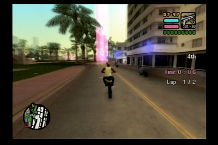 Grand Theft Auto: Vice City Stories PlayStation 2 The classic turismo checkpoint races are throughout the city.