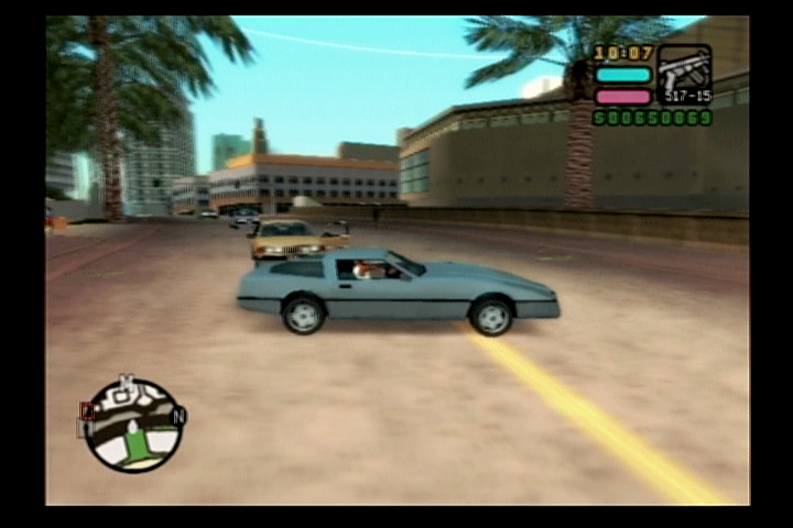 Grand Theft Auto: Vice City Stories PlayStation 2 Everything 80's including vehicles.