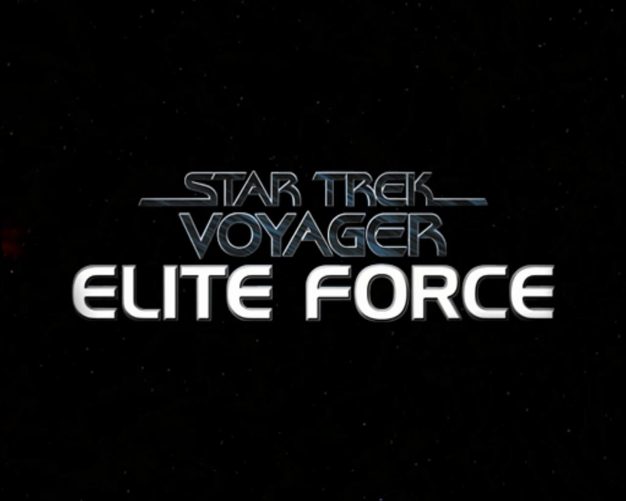Star Trek: Voyager - Elite Force Windows Title screen