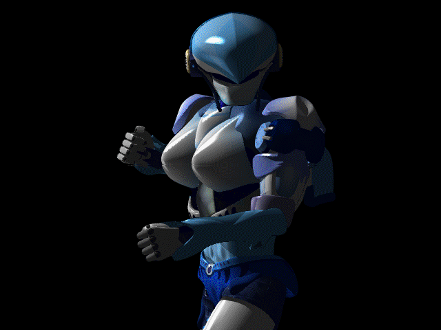 Cyber Police DOS Ishrall makes her appearance on the introduction scene