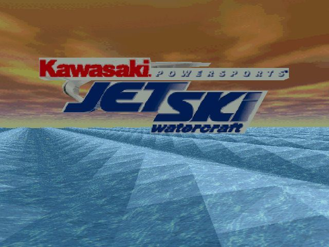 Kawasaki Jet Ski Watercraft Windows Title screen