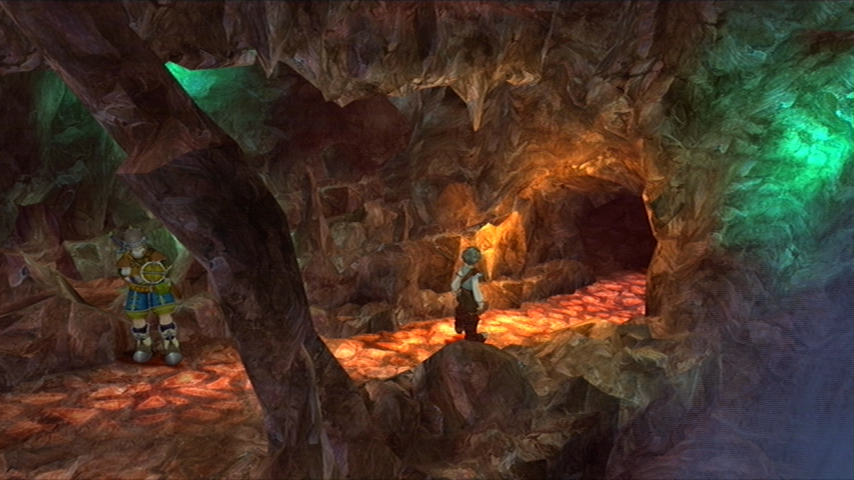 Eternal Sonata Xbox 360 About to enter a suspect looking cave...