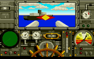 Advanced Destroyer Simulator Atari ST A direct hit