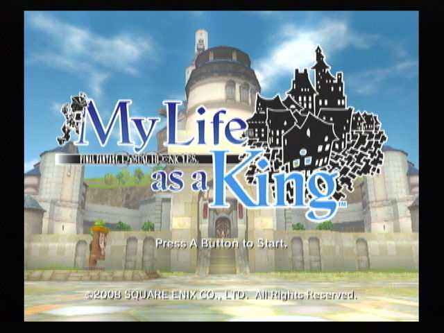 Final Fantasy: Crystal Chronicles - My Life as a King Wii Title screen