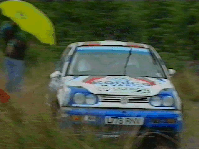 Network Q RAC Rally Championship DOS Opening Cinematics