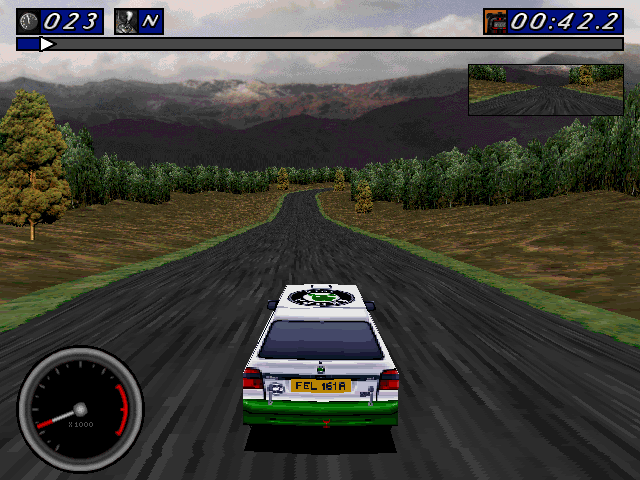 Network Q RAC Rally Championship Screenshots for DOS