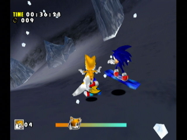Sonic Adventure DX (Director's Cut) GameCube Sonic is known for his speed, don't underestimate him!.