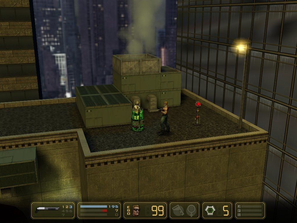 Duke Nukem: Manhattan Project Windows You Have To Defuse Bombs To Save The Chicks