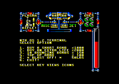 Dan Dare III: The Escape Amstrad CPC What do you want to buy today?