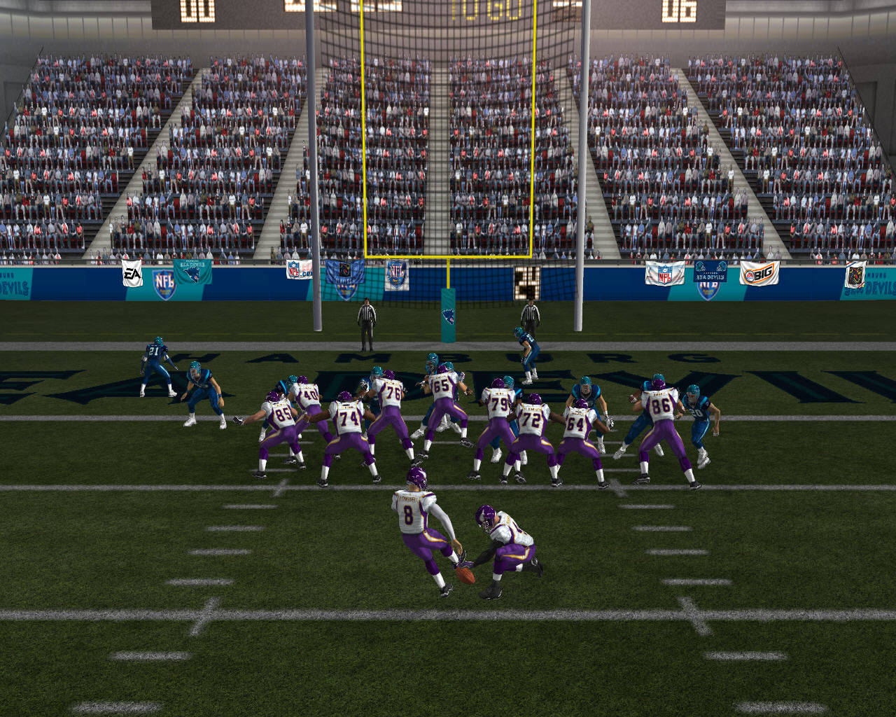 Madden NFL 07 Windows Team is close to get a touchdown