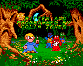Slightly Magic Amiga Opening credits sequence with all kinds of neat little animations.