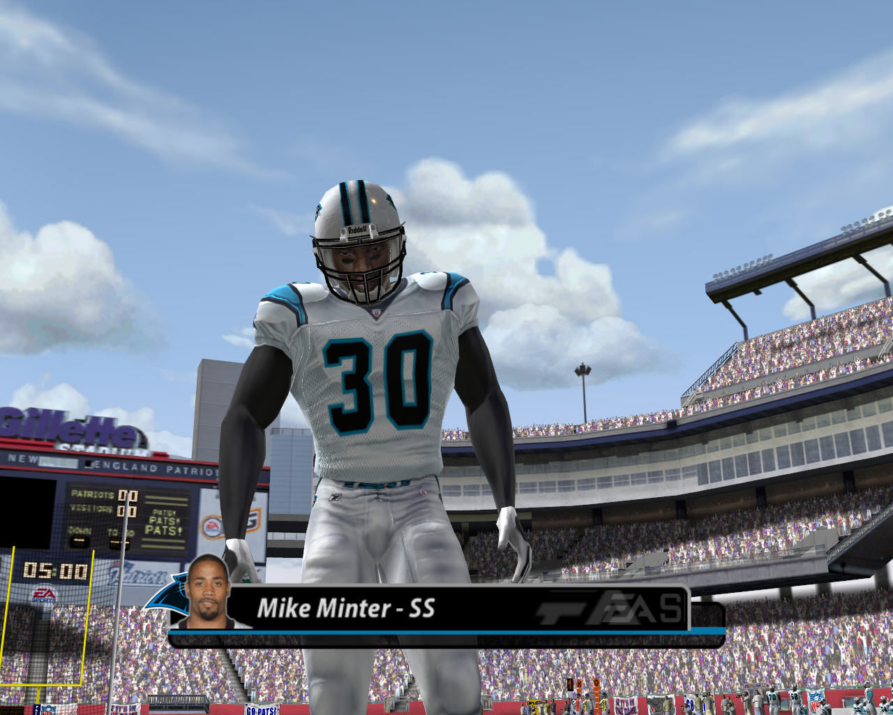 Madden NFL 2005 Windows Mike Minter