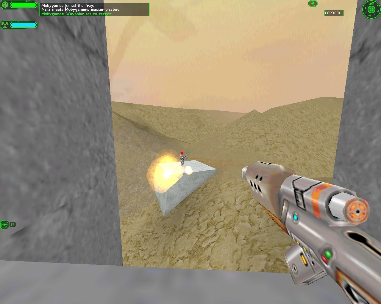 Starsiege: Tribes Windows Weapon tutorial: the plasma gun