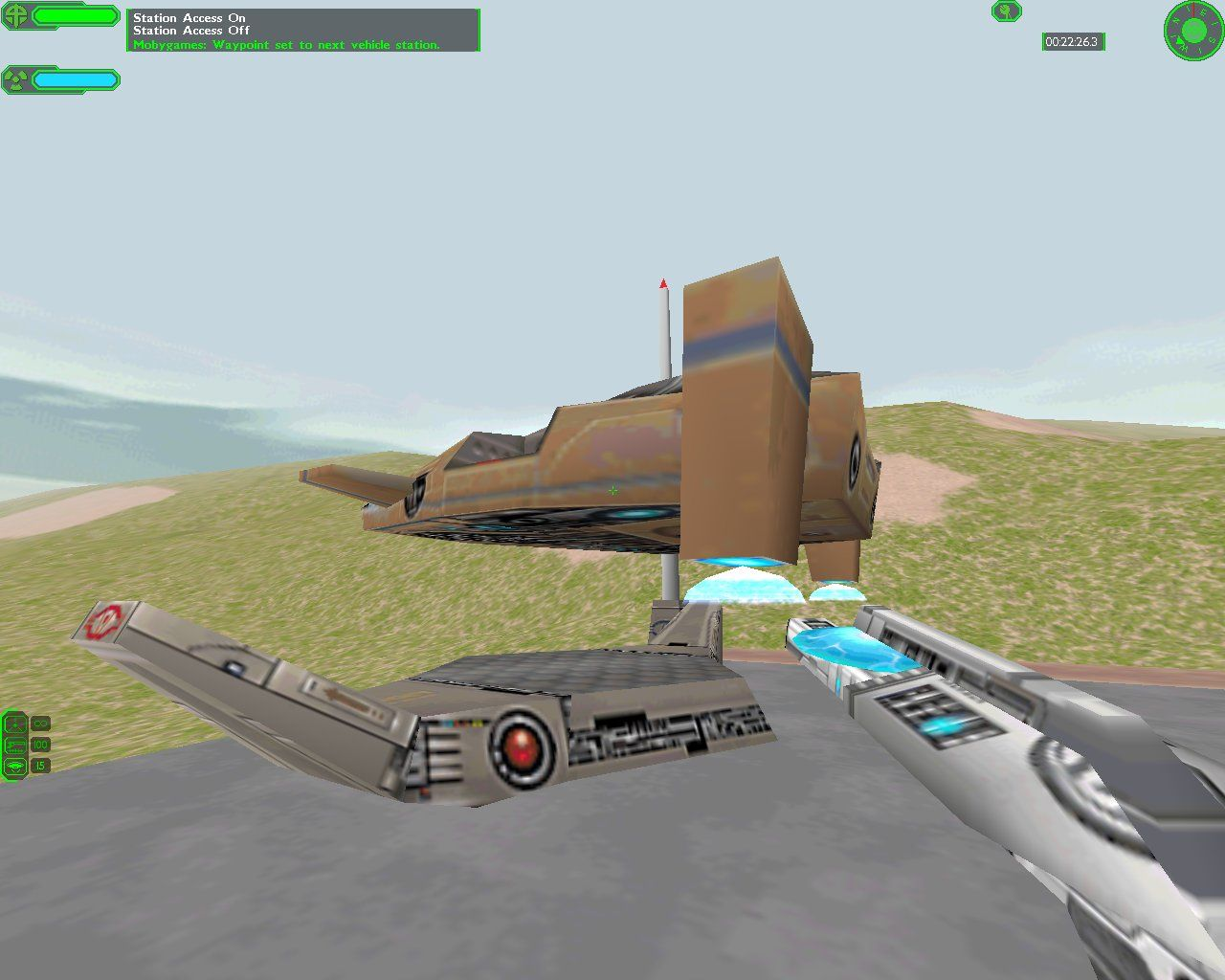 Starsiege: Tribes Windows Light Personnel Carrier