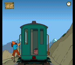 A Train Ride In The Andes