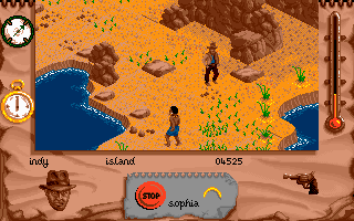 Indiana Jones and The Fate of Atlantis: The Action Game DOS Level 5 - Hi, I'm looking for Atlantis