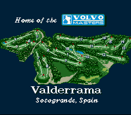 PGA European Tour SNES Practice round in Spain