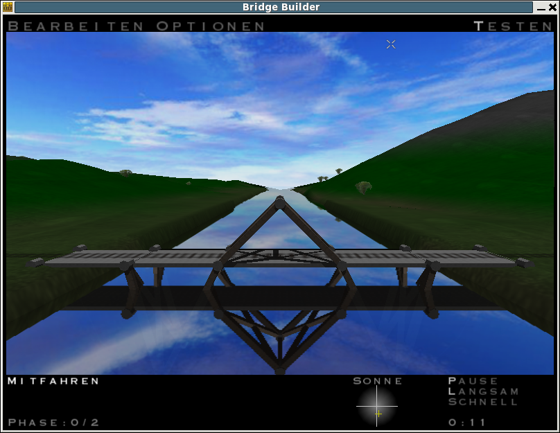 Bridge Builder: Planen, Bauen & Testen Linux Test