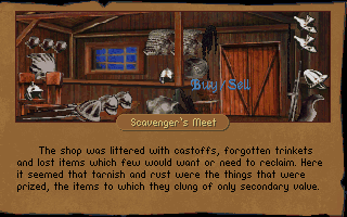 Betrayal at Krondor DOS There are a different shops in the land, specializing in different merchandise for you to buy and sell items.