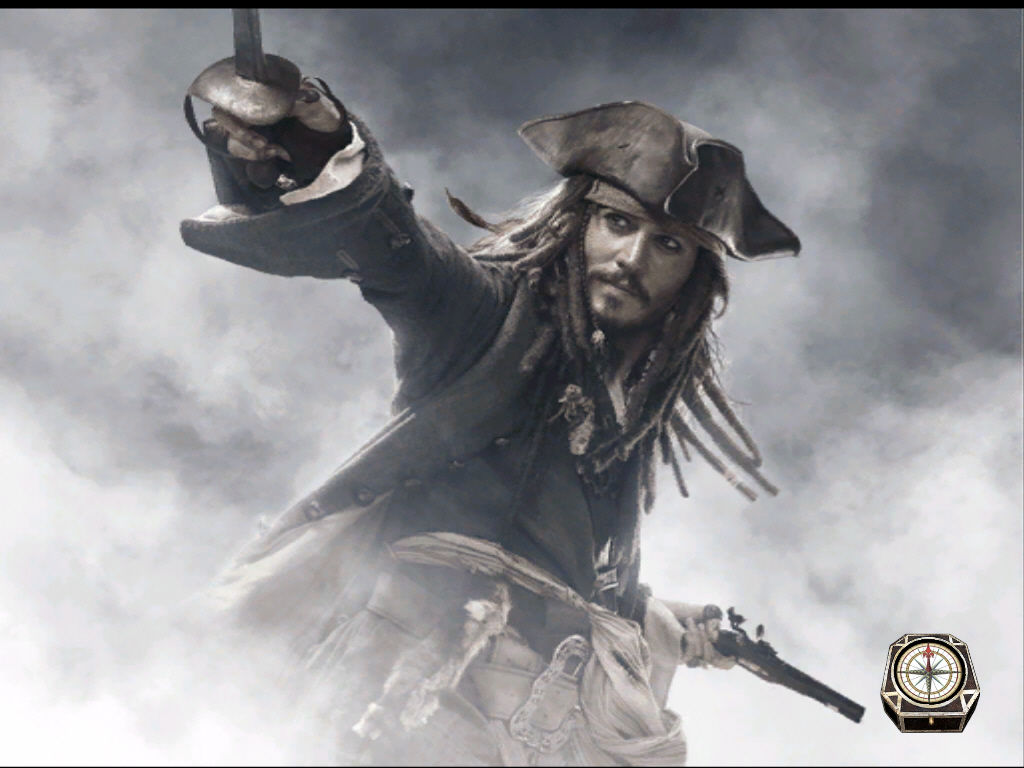 Disney Pirates of the Caribbean: At World's End Windows Jack Sparrow in loading screen