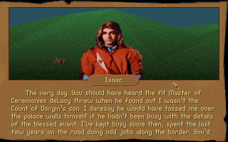 Betrayal at Krondor DOS You will meet many people during your travels, offering you information and possible leads to sub-quests...