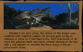 Betrayal at Krondor DOS Some special locations add additional flavor to the story.
