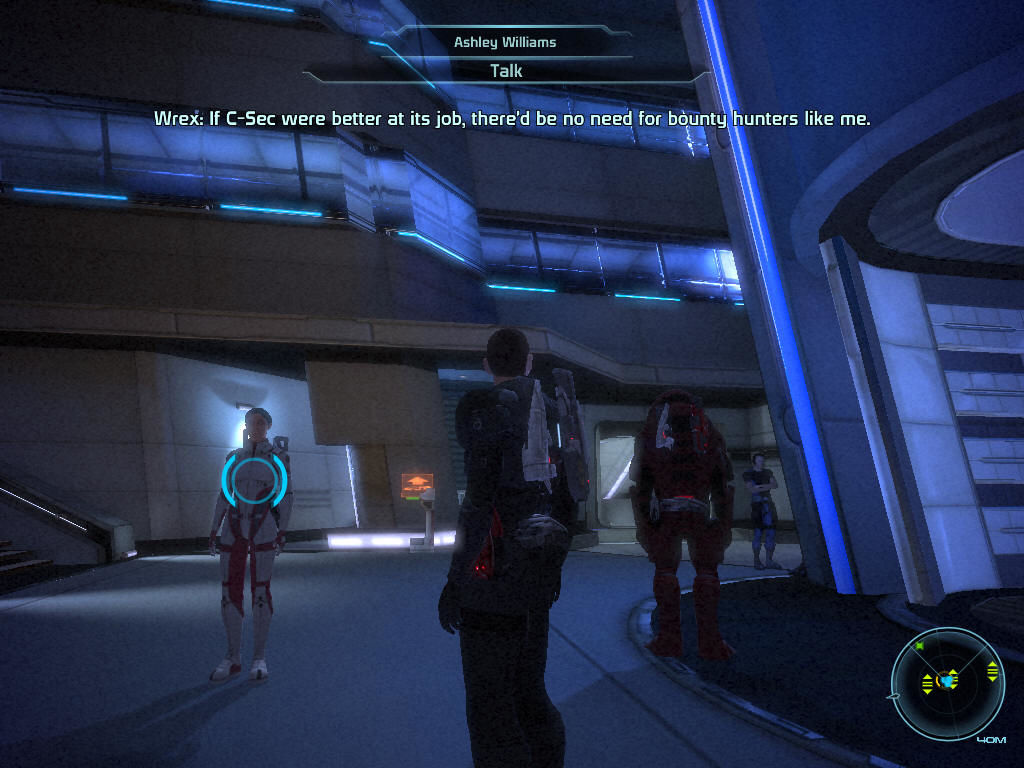 "Mass Effect Windows The Citadel is the main ""hub"" of the game."