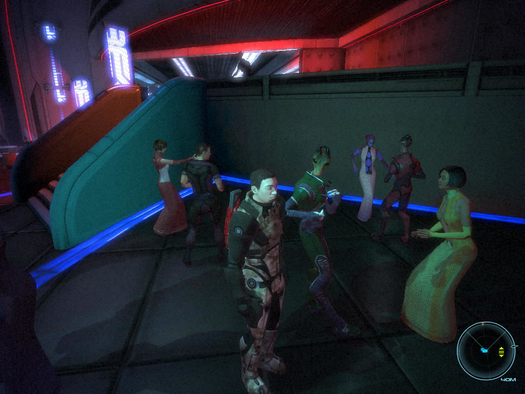 Mass Effect Windows Come on, Shepard! Dance with us!