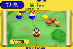 Klonoa Heroes: Densetsu no Star Medal Game Boy Advance Overhead map