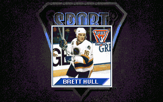 Brett Hull Hockey 95 DOS Brett Hull