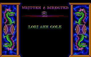 Hero's Quest: So You Want to Be a Hero Atari ST Credits