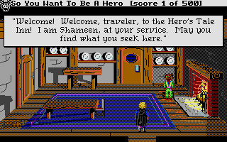 Hero's Quest: So You Want to Be a Hero Atari ST You'll be seeing a lot more of these guys in the sequel.