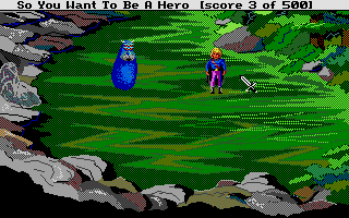 Hero's Quest: So You Want To Be A Hero Atari ST The dreaded Antwerp, which cannot be safely dispatched by conventional means.