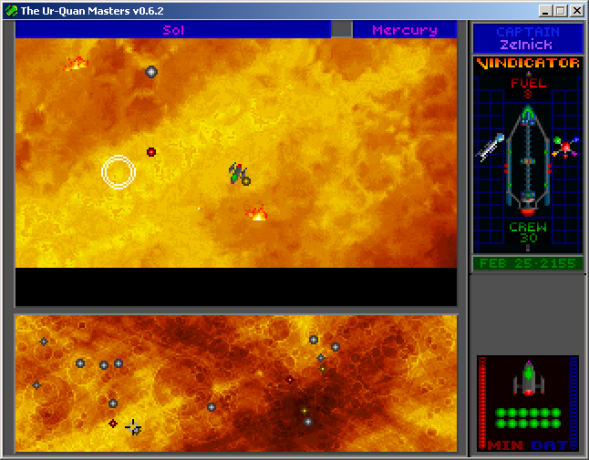 Star Control II Windows Earthquakes and firestorms plague the surface of Mercury.