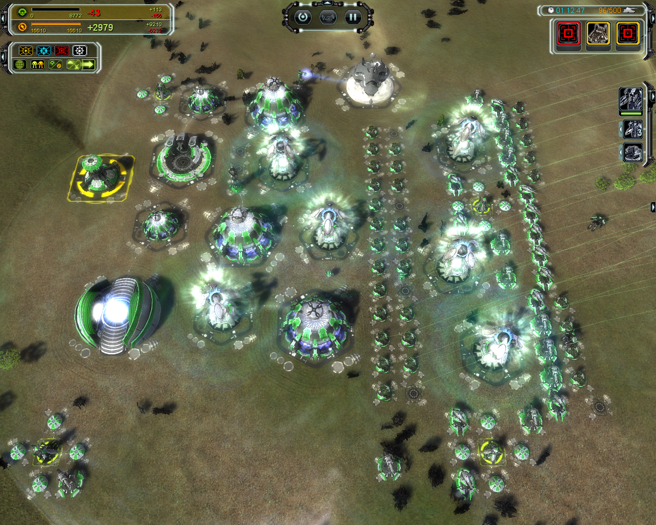 Supreme Commander Forged Alliance Screenshots For Windows Mobygames