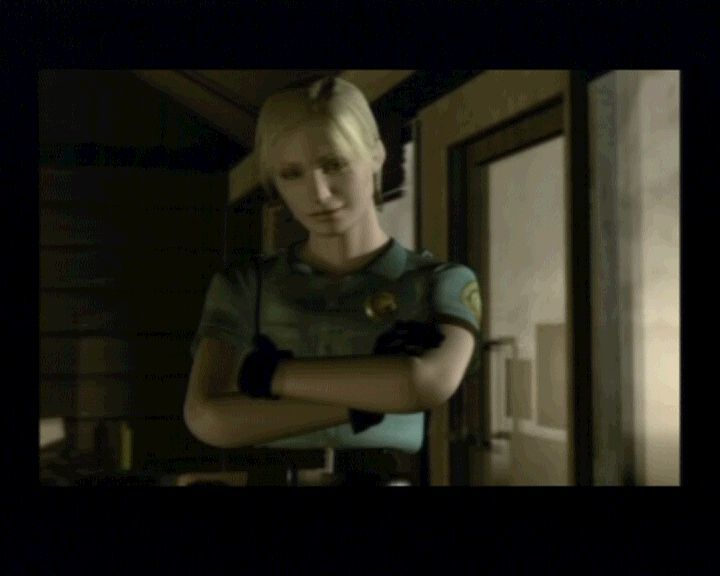 Silent Hill PlayStation After you regain consciousness from the first attack, you'll meet Cybil and gain a gun.