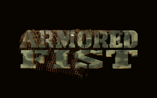 Armored Fist DOS Title screen