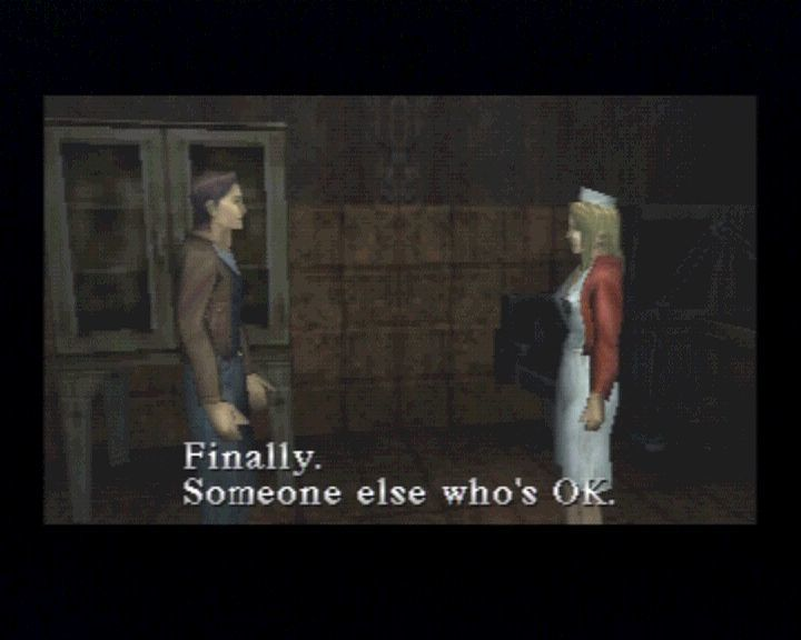 Silent Hill PlayStation Yes, there won't be too much of the characters to talk to, only monsters.