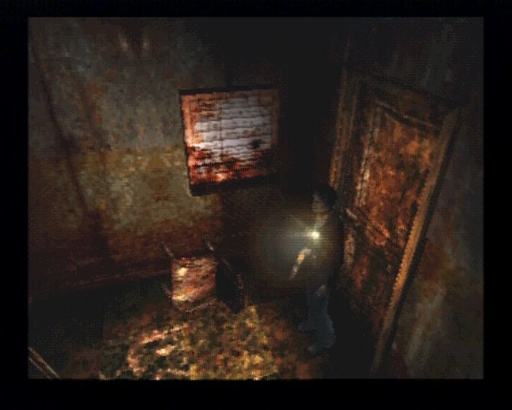 Silent Hill PlayStation Bloody scenes will never lack, especially not in the hospital.