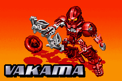 BIONICLE: Maze of Shadows Game Boy Advance Intro showing the characters (yet again)